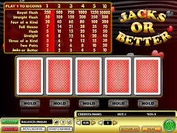 Jacks Or Better Casino Game